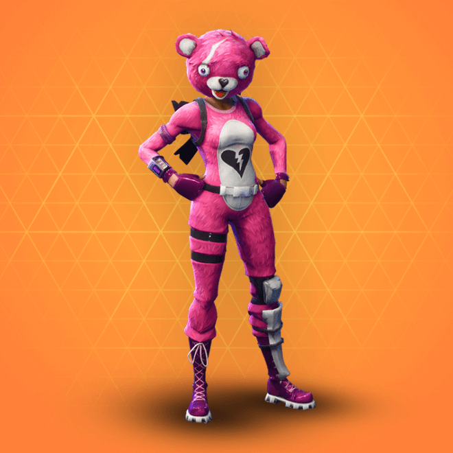 Fortnite Cuddle Team Leader Costume For Kids And Adults