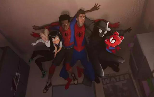 how many spidermans are there in the Spider-Man: Into the Spider-Verse