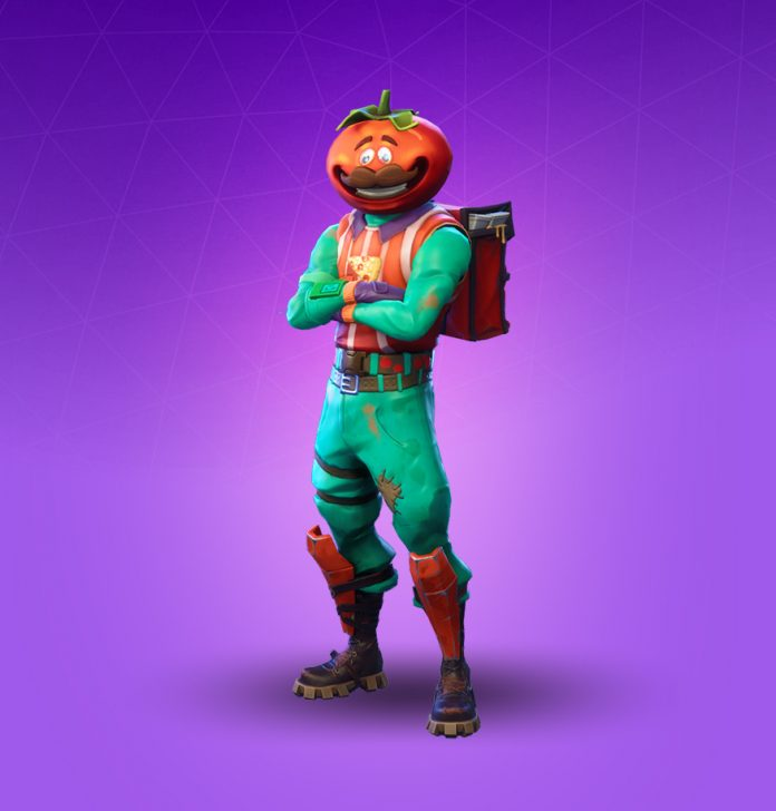 Fortnite Tomato Head Costume for Kids and Adults