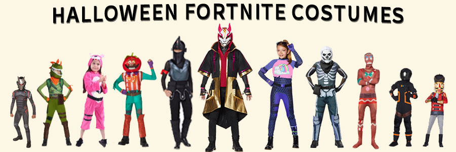 Halloween Fortnite Costumes