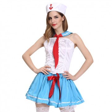 Navy uniform sailor Cosplay suit