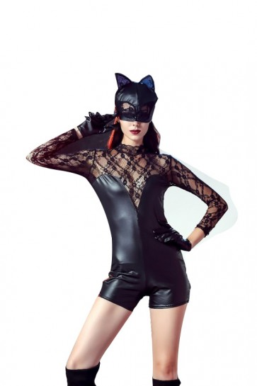 hot  sexy catwoman costume  in  2019