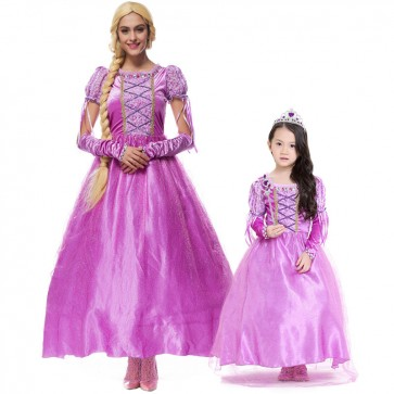 Rapunzel costumes for kids wholesale