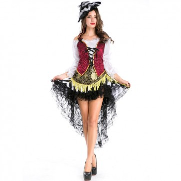 halloween pirate costume wholesale