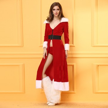 Long sleeve adult fun Christmas dress