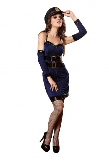 Sexy police uniform cosplay game uniform