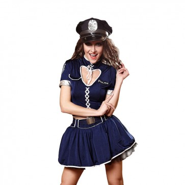 European and American sexy police uniforms