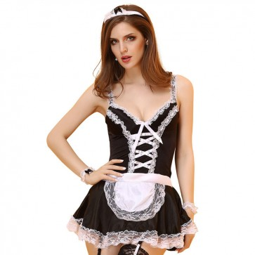 Uniform temptation sexy maid outfit