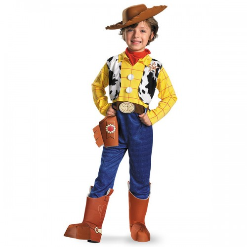 halloween woody cosplay costume for kids