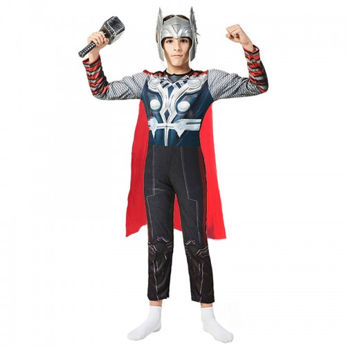 halloween thor cosplay costume for kids