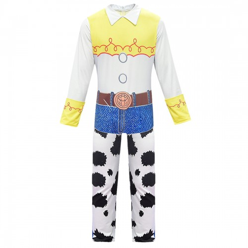 halloween jessie cosplay costume - toy story