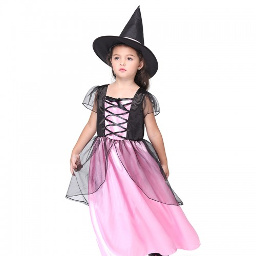 Halloween Pink witch dress