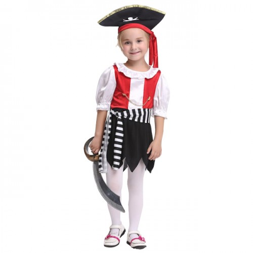 halloween pirate outfit shirt for kid