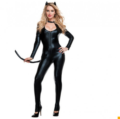 sexy catwoman costume suit