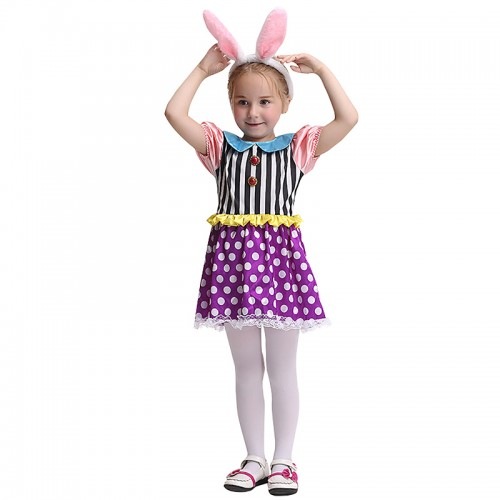 Halloween Easter Bunny dress outfit Kids