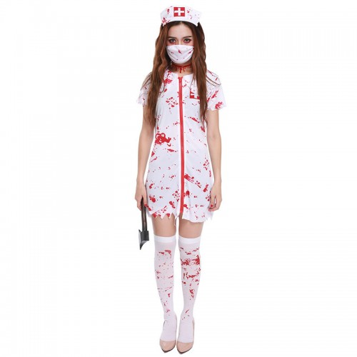 Halloween Blood Female Nurse costume