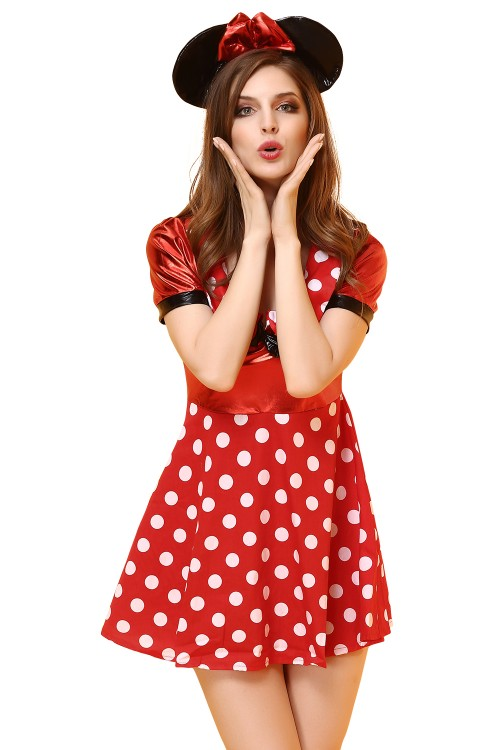 Mickey Mouse dress for woman