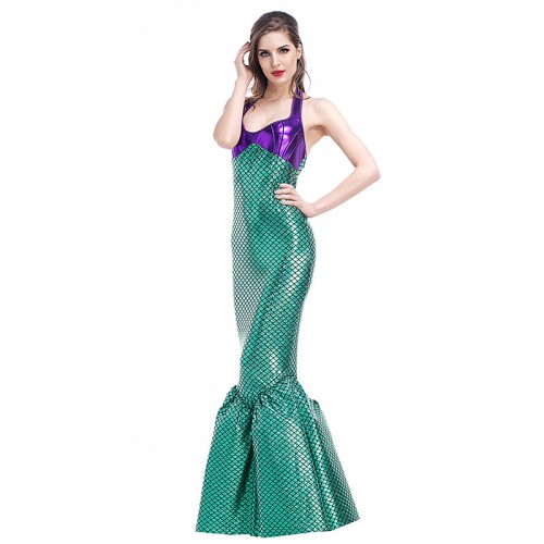 Green Mermaid Costume wholesale