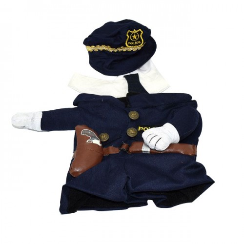 high quality halloween police dog costume near me