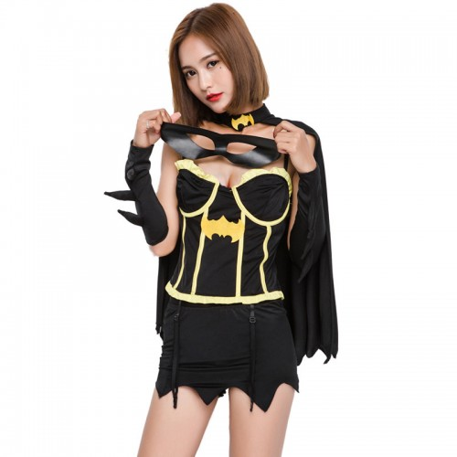 batgirl costume suit  with mask