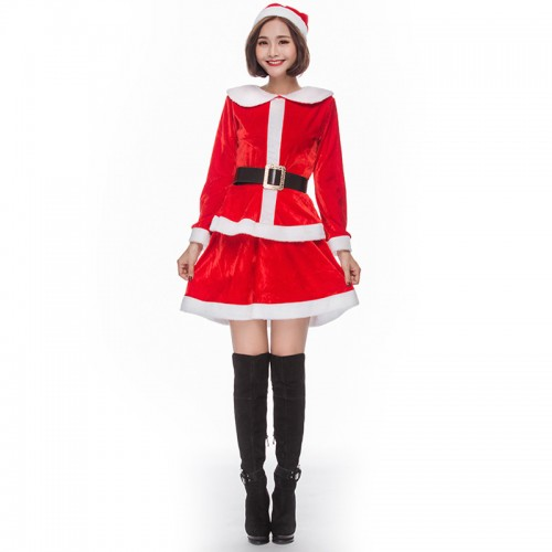 Christmas red Santa dress