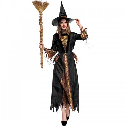 Halloween Black Witch Costume