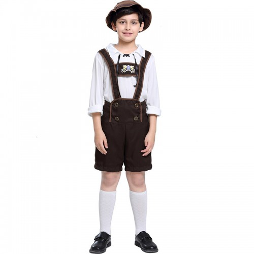 Halloween oktoberfest beer costume for boy