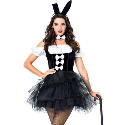 halloween sexy bunny dress