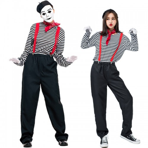best Halloween mime costume outfit
