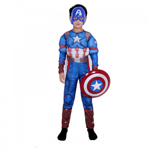 captain america costume suit