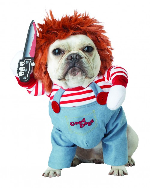 halloween chucky deadly doll dog costume