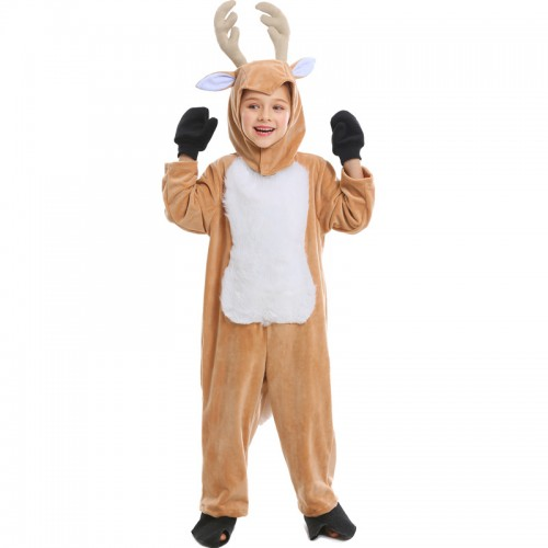 christmas animal deer costume for kids