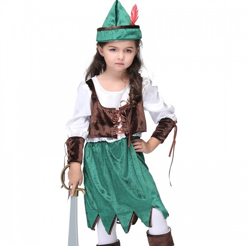 pirate costume for girl wholesale
