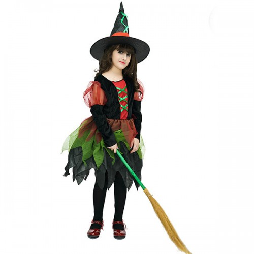 witch costumes for kids wholesale