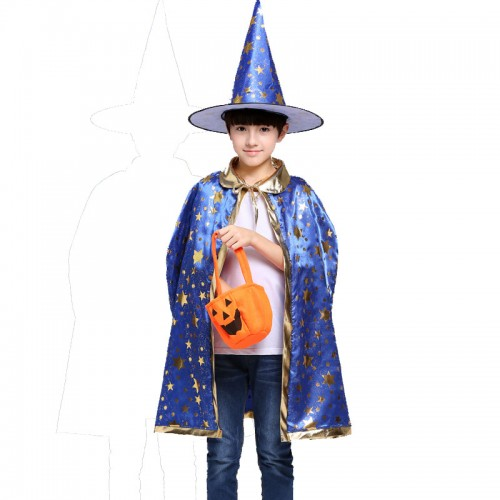 halloween magic witch cosplay for kids