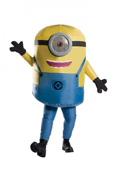 halloween minion inflatable costume