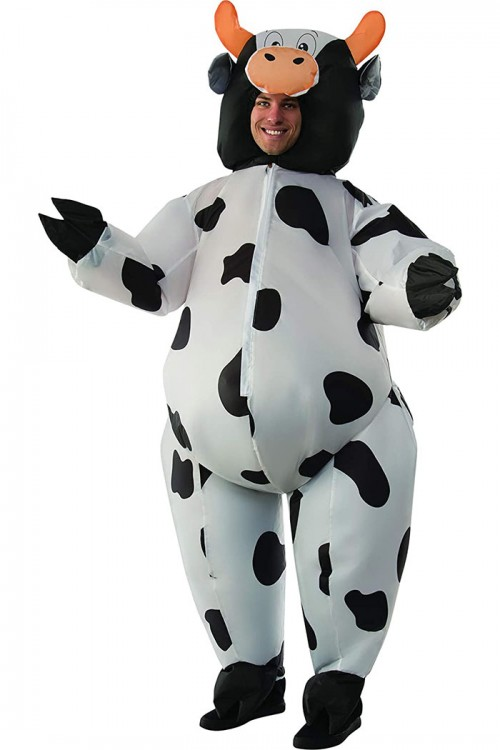 halloween cow inflatable costume