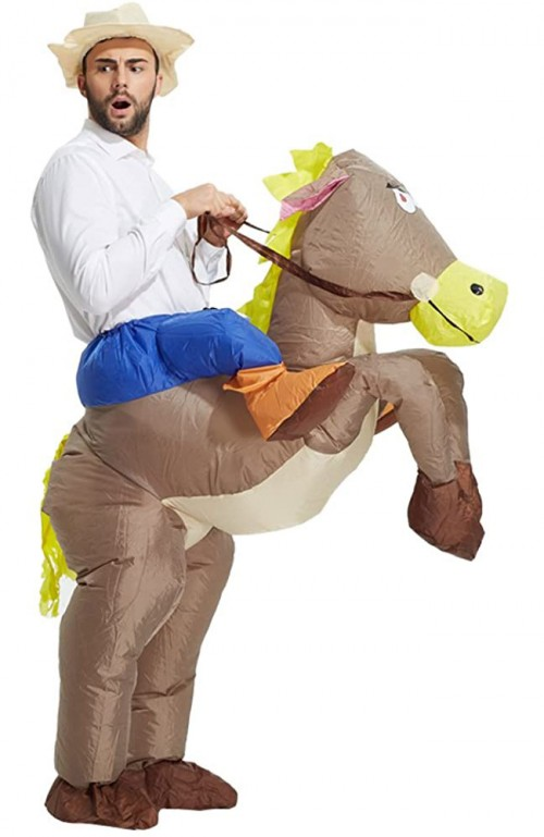 halloween horse inflatable costume