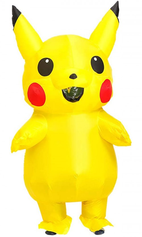 halloween pikachu inflatable costume