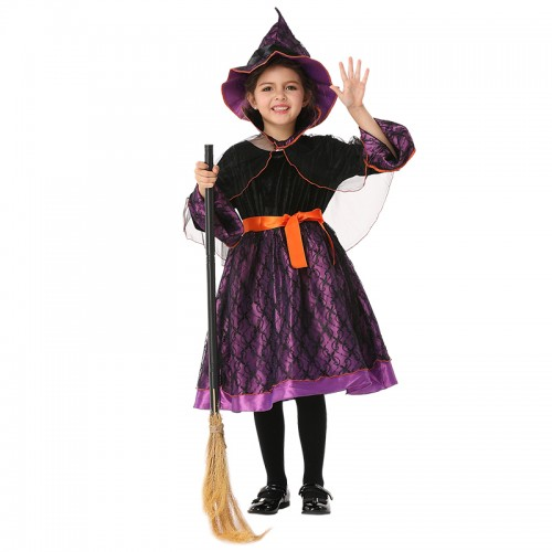 cheap halloween purple witch dress clothing