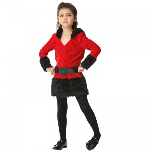 halloween christmas red outfit