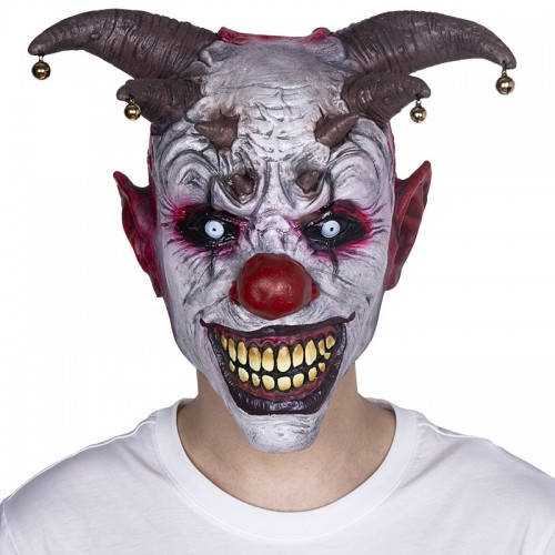 Jingle Jangle Creepy Clown Mask