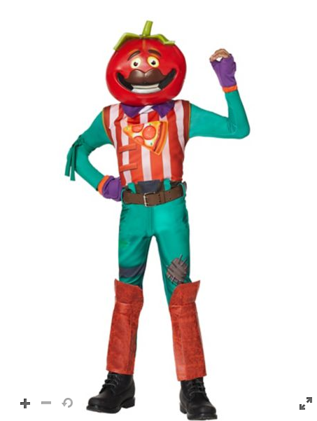 Tomato head costume cosplay for kids and adult , fortnite
