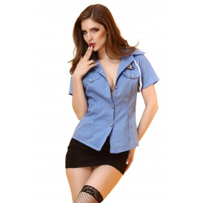 Flight attendant uniform temptation sexy lingerie set