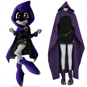 Teen Titans raven costume for kids online