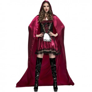 nightclub Queen Deluxe Little Red Riding Hood Stage Dress