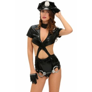 sexy cop police costume   wholesale