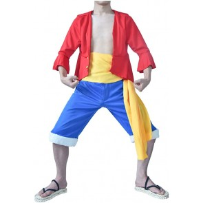 Luffy One Piece Cosplay Costume