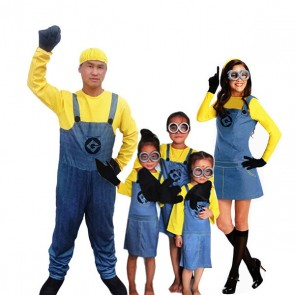 minions costume for groups wholesale