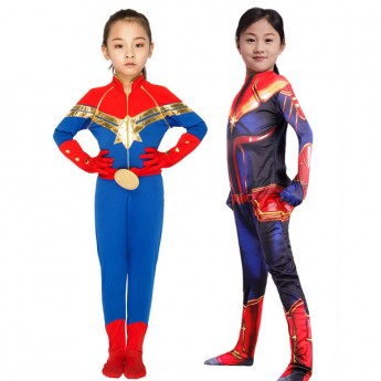 halloween Captain Marvel costume for girl